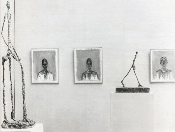 22: Bo Boustetd  Exposition Alberto Giacometti à la Bie