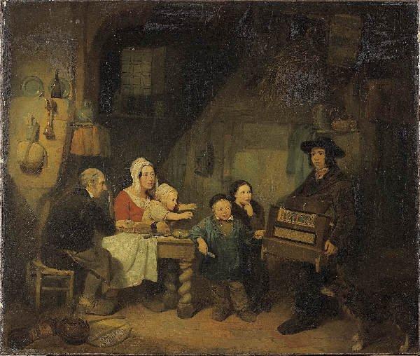 1202: de BRAEKELEER BELGIAN SCHOOL. The traveling music