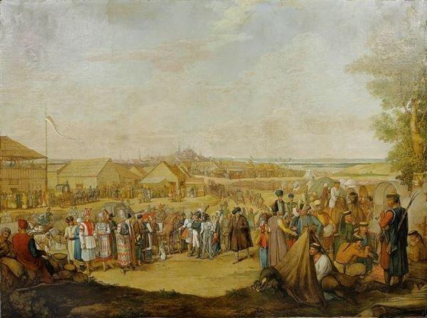 16: Georg Emmanuel OPITZ Emperor Nicholas I's Visit to