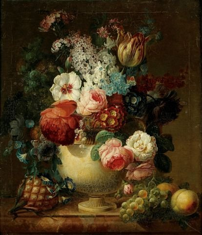19: Attributed to Jan Frans Van DAEL (1764-1840), Bouqu