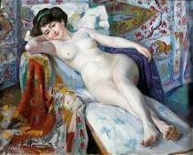 107: Henri PAILLER (French 1876-1954) Nude