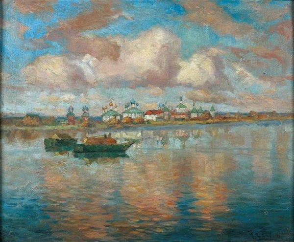 20: Konstantin-Ivanovich GORBATOV (1876-1945), Russian.