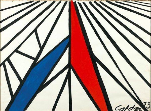 233: Alexander CALDER (1898-1976), American Composition