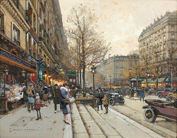 5: Eugène GALIEN-LALOUE (1854-1941) Boulevard Saint-Mar