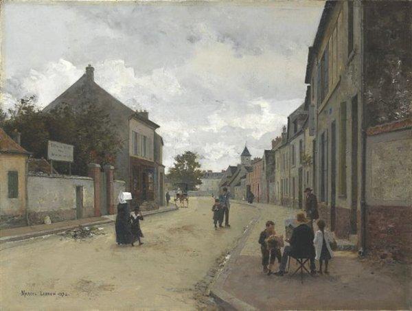 21: Marcel-Auguste-Eugène LEBRUN (born in 1867) Painter