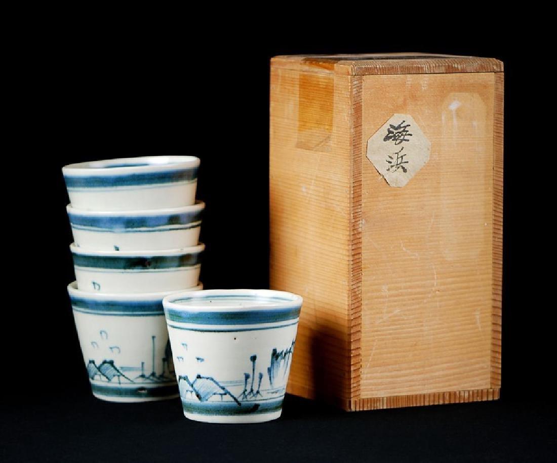 SOBA CUPS; EDO PERIOD (1603-1867)