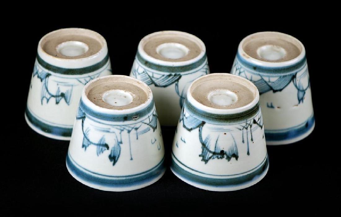 SOBA CUPS; EDO PERIOD (1603-1867) - 3