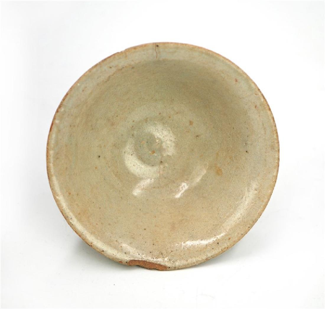 TALL FOOT DISH; JOSEON DYNASTY (1394-1897) - 2