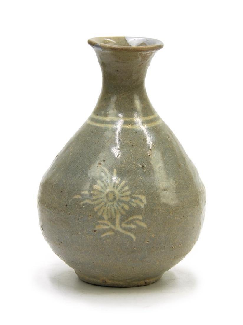 KOREAN WINE BOTTLE; GORYEO DYNASTY (918- 1392)