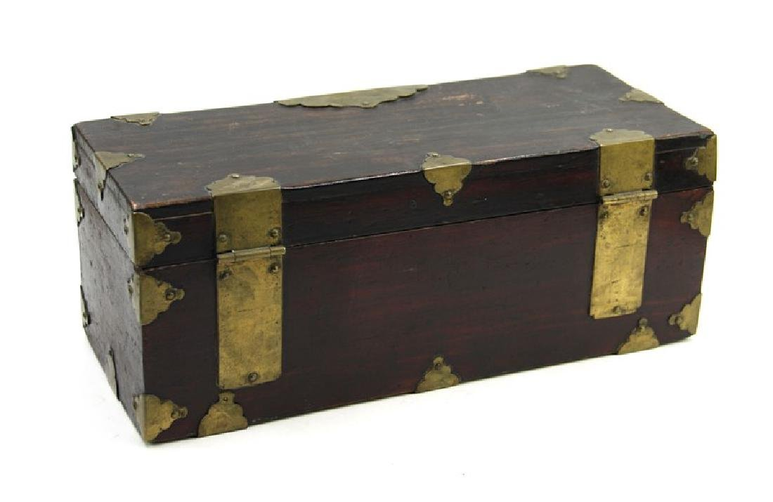 WOODEN CHEST; JOSEON DYNASTY (1394-1897) - 2