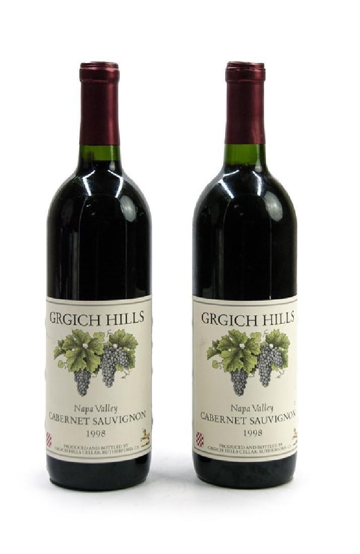 PAIR OF GRIGH HILLS CABERNET SAUVIGNON 1998