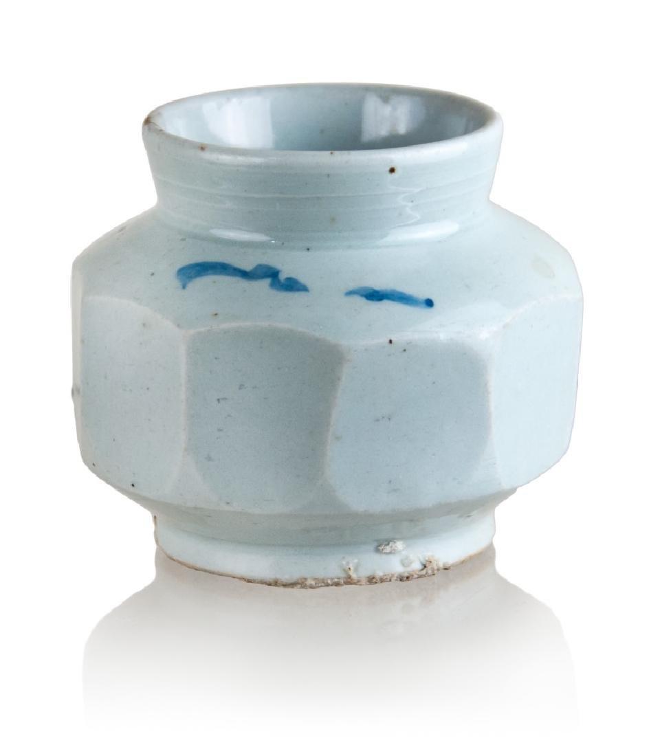 WHITE FACTED KOREAN JAR