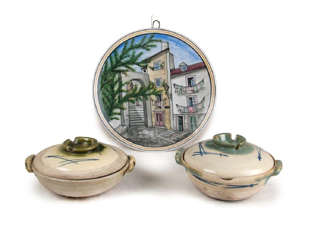 PORCELAIN GROUP OF THREE