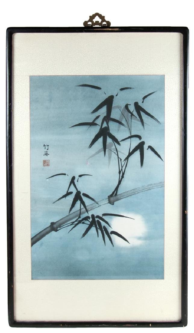 BAMBOO PAINTING, INK ON PAPER