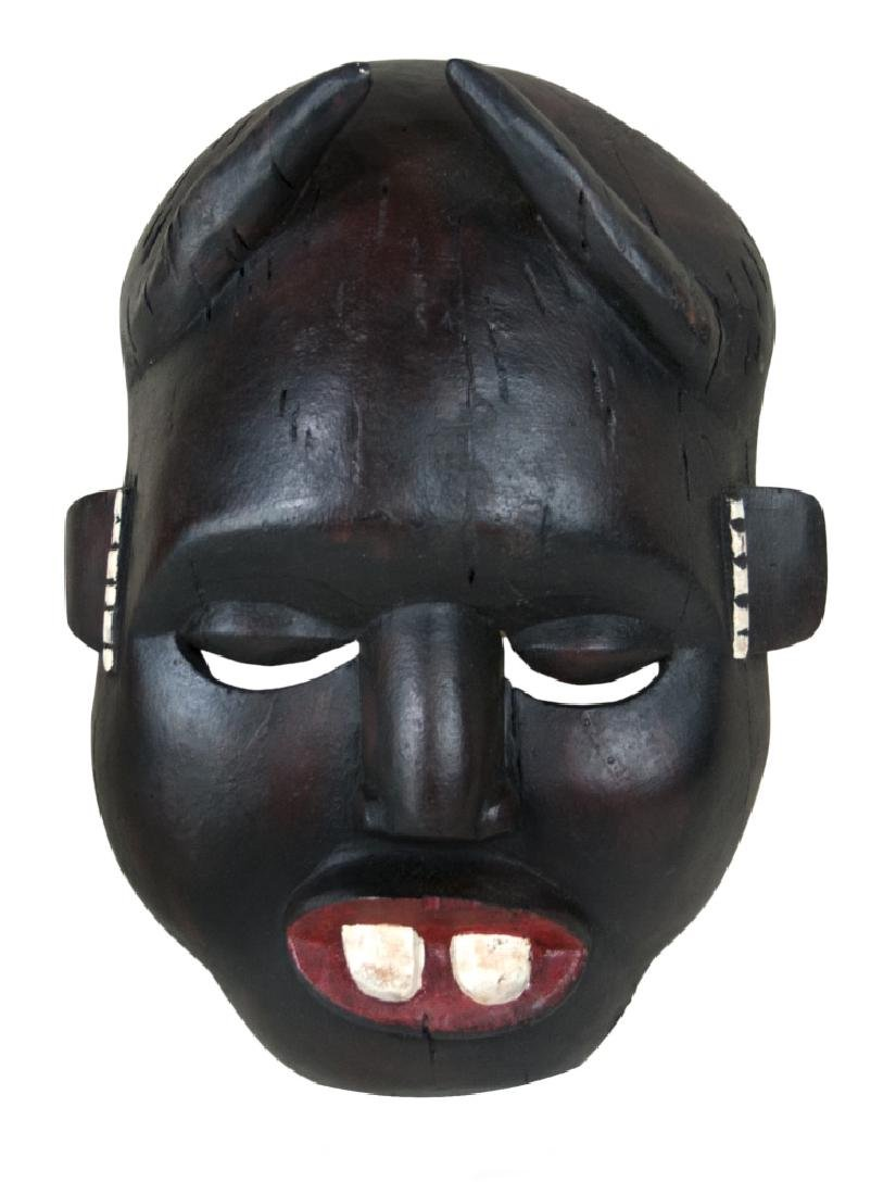WOOD CARVED DAN MASK