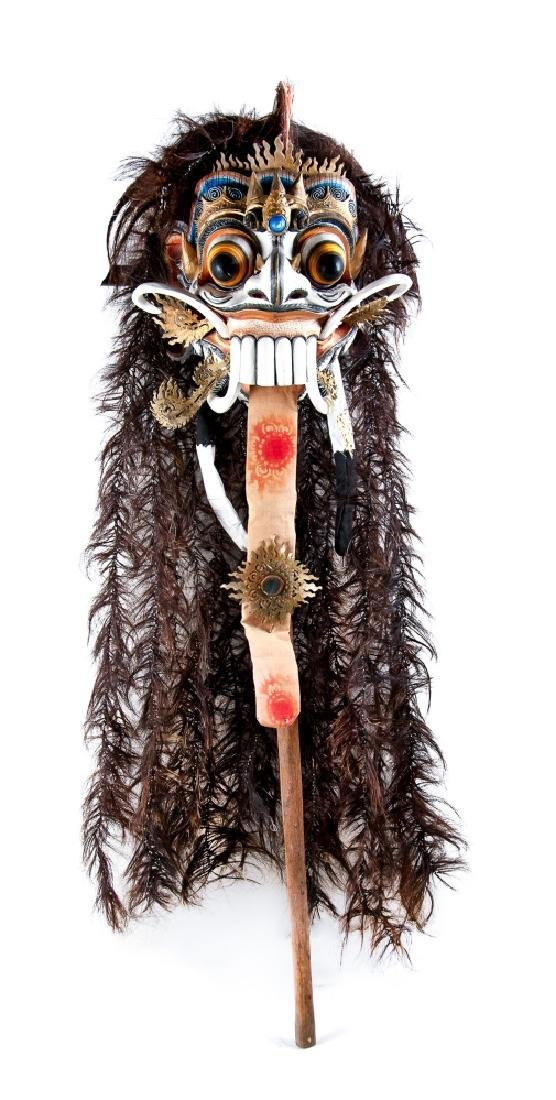 INDONESIAN RANGDA MASK