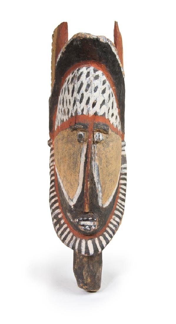 ABELAM WOODEN YAM CEREMONY MASK