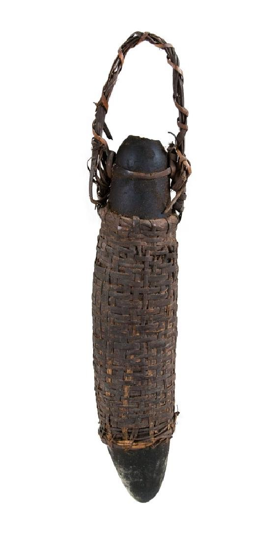 BLACK GOURD VESSEL