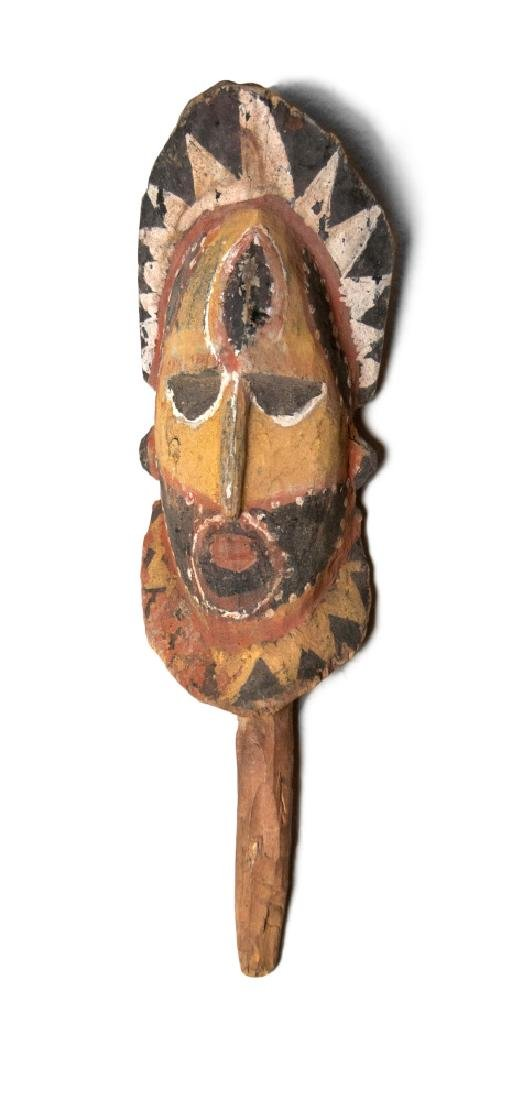 PAPUA NEW GUINEA CARVED ABELAM HEAD