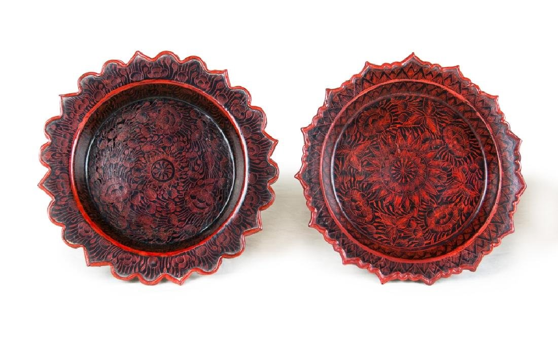 BURMESE LACQUER CONTAINERS - 3