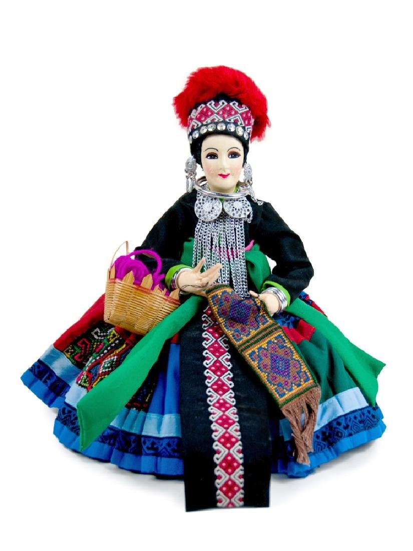 MEXICAN POTTERY DOLL
