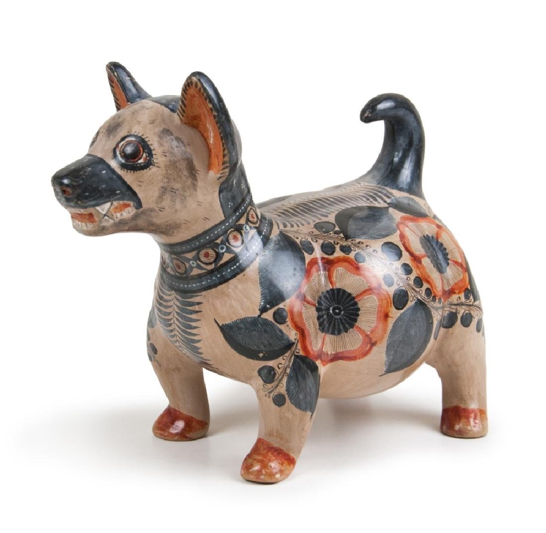 MEXICAN POTTERY DOG