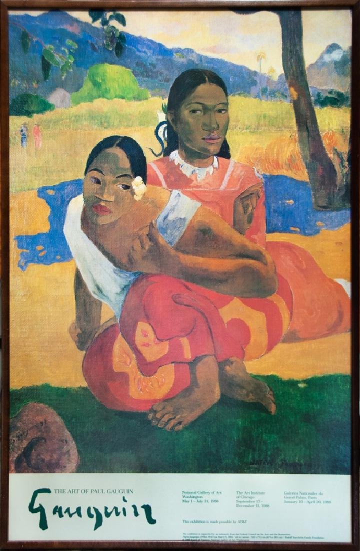 THE ART OF PAUL GAUGUIN, 1988-89
