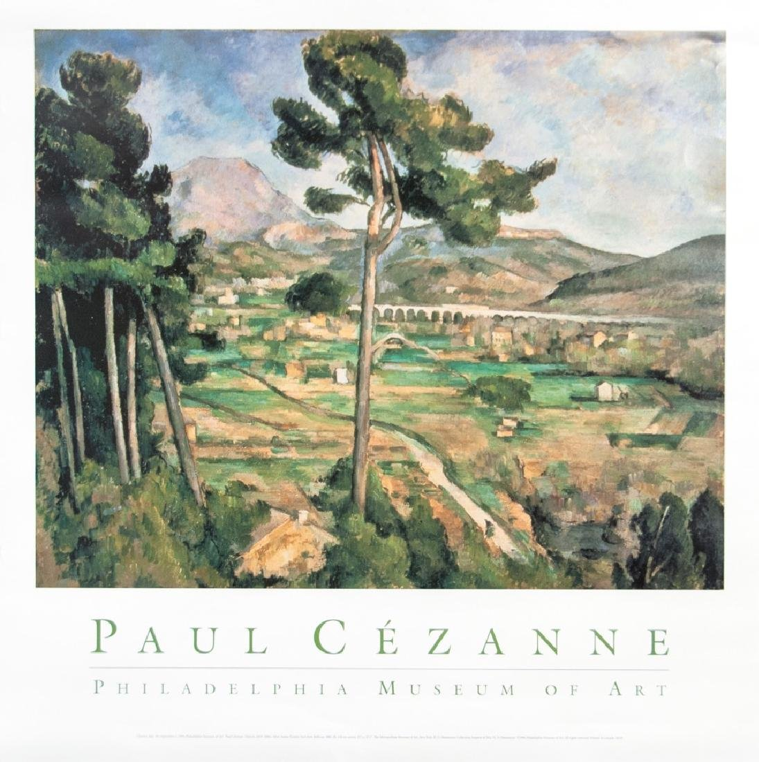 PAUL CEZANNE GALLERY POSTER