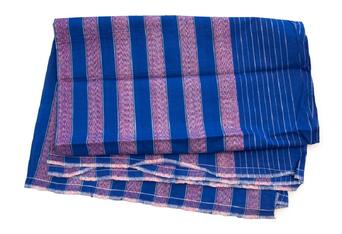 JAVANESE TEXTILE WITH STRIPE PATTERN