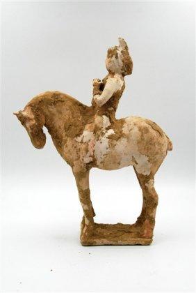 Han Dynasty Musician On Horse