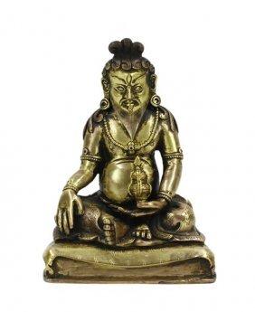 Gilt Daoist Lord Of Heaven Statue