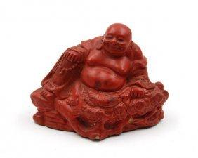 Cinnabar Lacquer Buddha