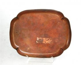 Decorative Japanese Copper Plate
