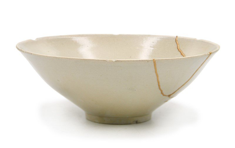 WHITE GLAZE BOWL