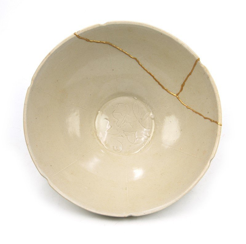WHITE GLAZE BOWL - 2