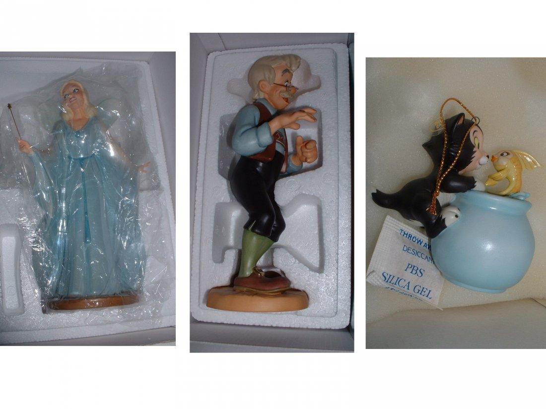 Disney's Pinocchio WDCC (X3)