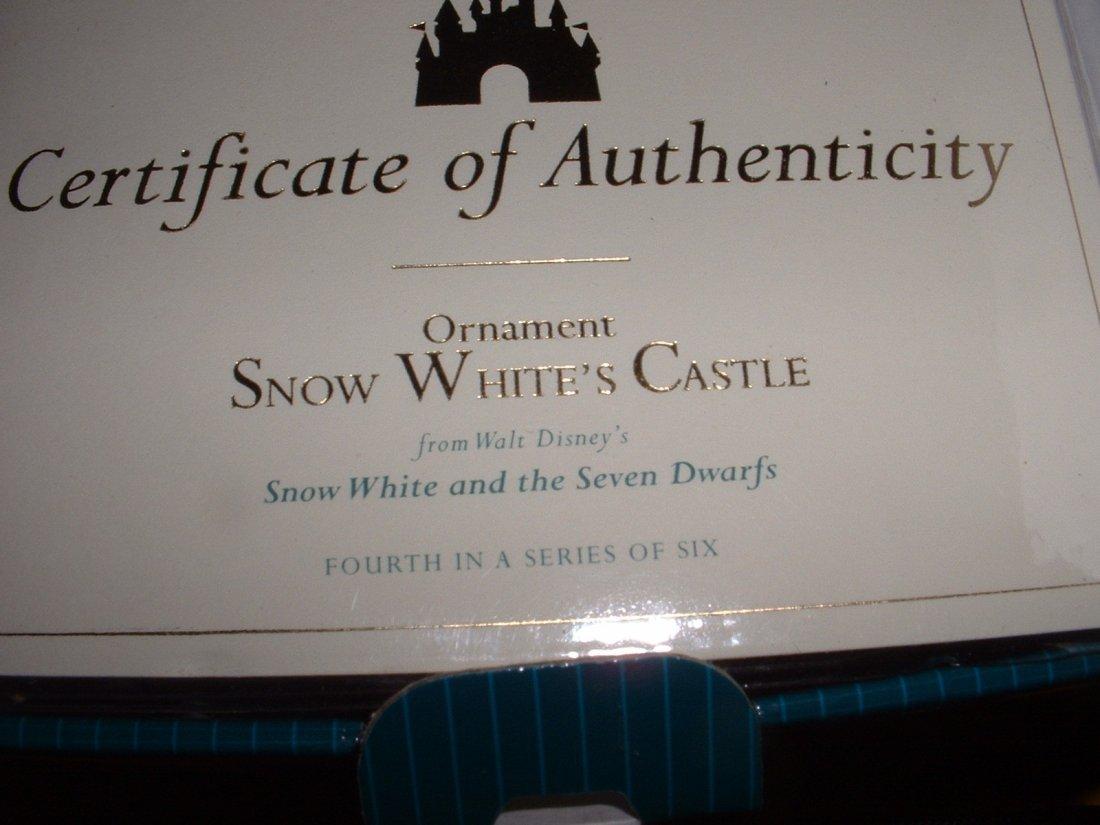 Disney's Snow White WDCC (X2) - 6