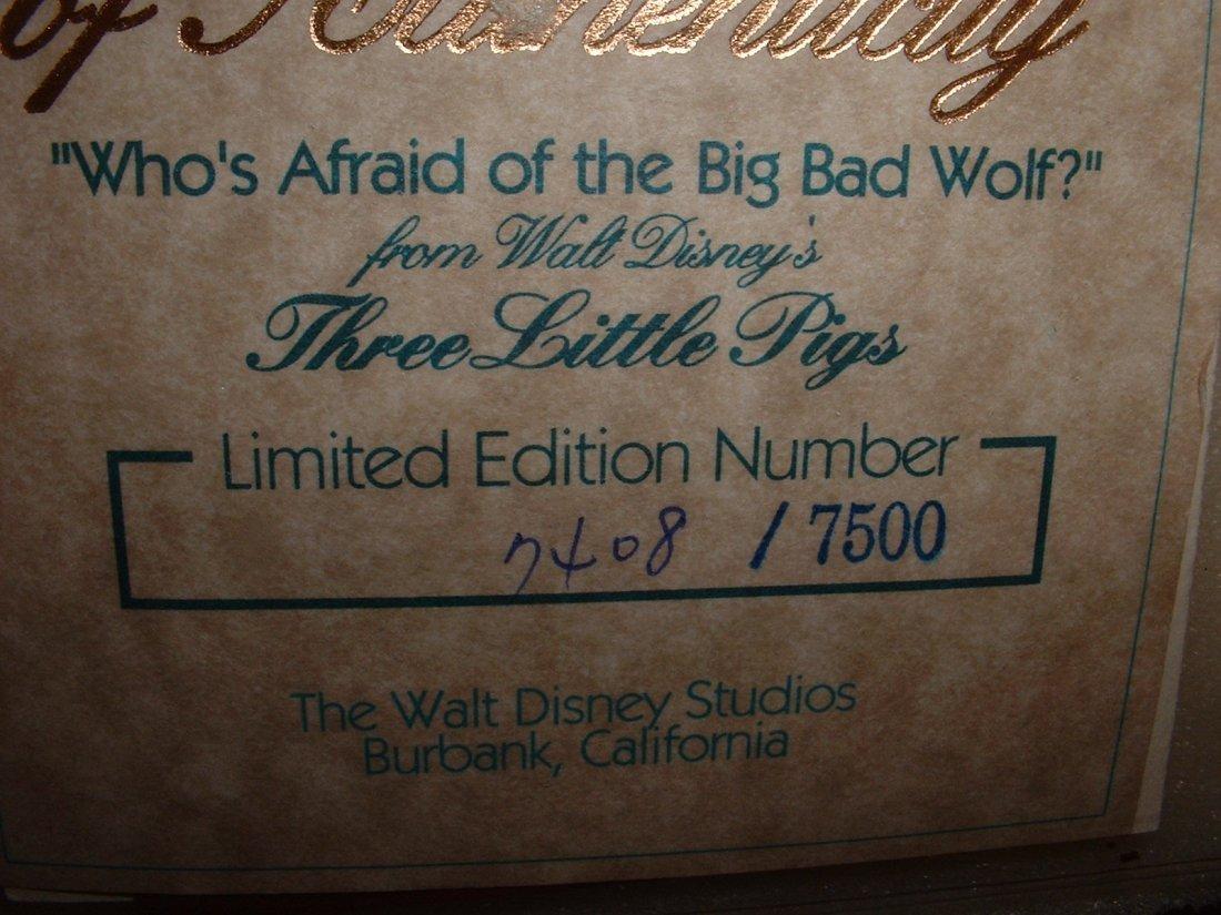 Disney's Three Little Pigs WDCC - 4