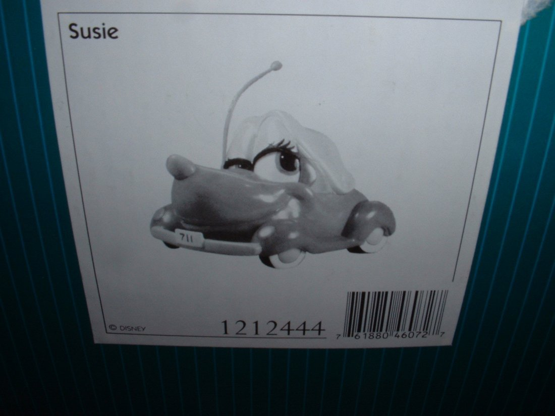 Disney's Susie the Little Blue Coupe WDCC