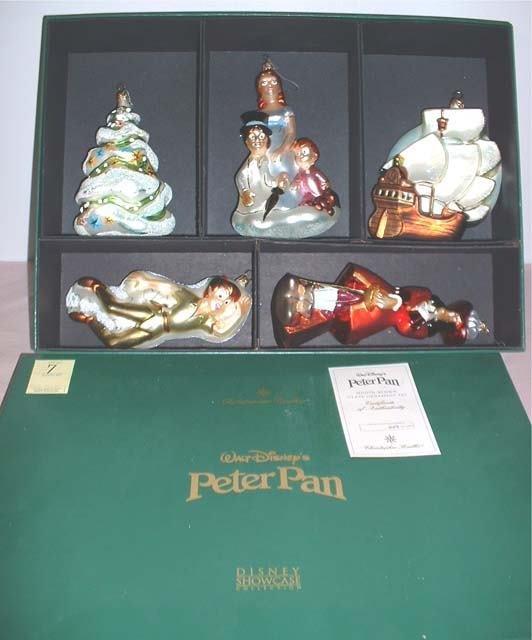 7: Christopher Radko Peter Pan Christmas Ornaments