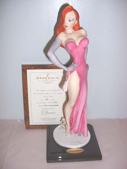 """10: Armani """"Jessica Rabbit"""" porcelain figurine"""