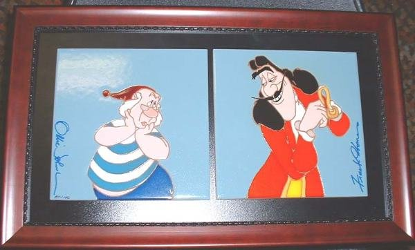 19: Walt Disney Company Captain Hook and Mr. Smee frame