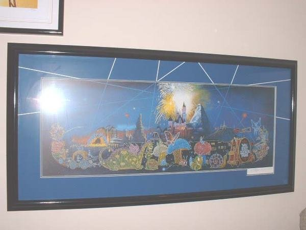 """41: Charles Boyer """"Main Street Electrical Parade"""" litho"""