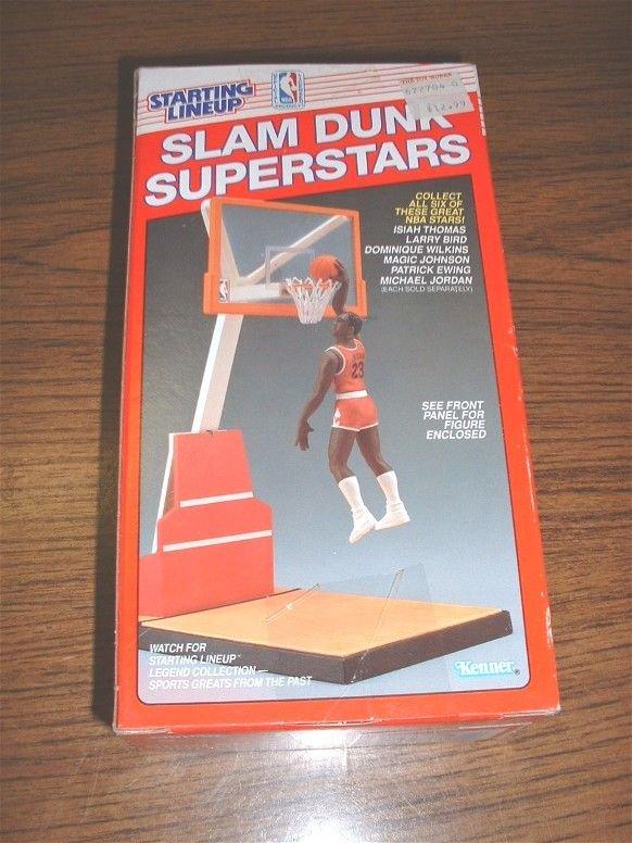 1236: STARTING LINEUP JORDAN SLAM DUNK RED BOX