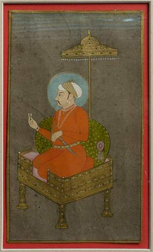 Very fine 18/19thC Indian Miniature Painting
