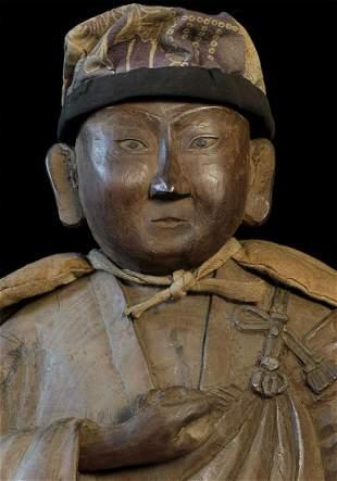 Delightful early Edo Monk!