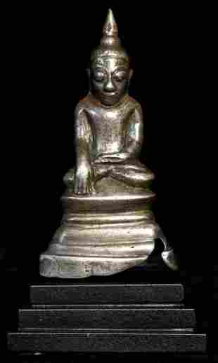 Wonderful Burmese 16/17thC Burmese late Ava Buddha.