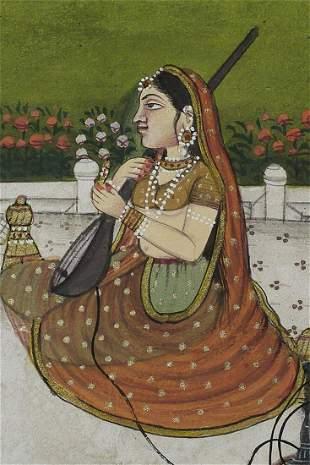 Beautiful Indian Miniature painting.