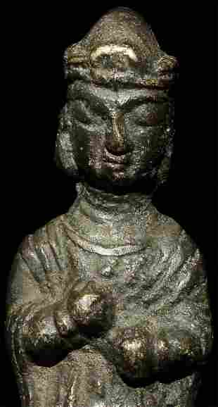 Early  Korean Bodhisattva-these provincial pieces very