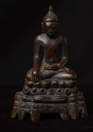 Post-Pagan Buddha from the 14th or 15th C